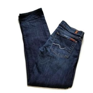 7 for All Mankind Straight Leg Jeans 28x31